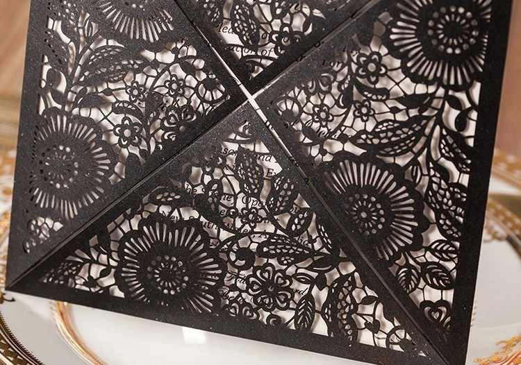 Black-Laser-Cut-Invitations-Cards-for-Wedding-Party-Free
