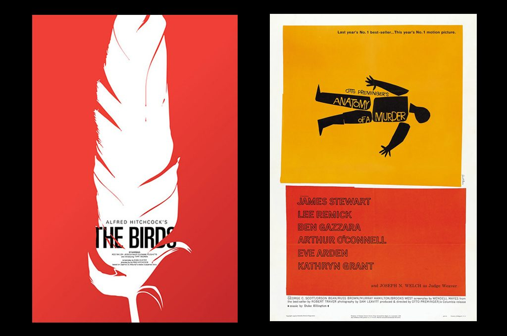 Posters by Saul Bass