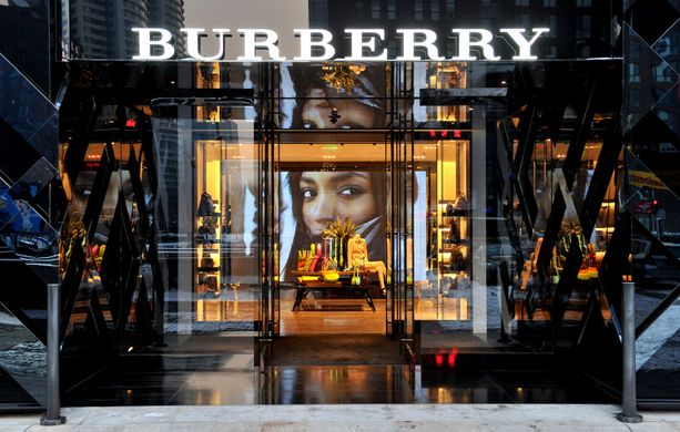 Burberry rebranding